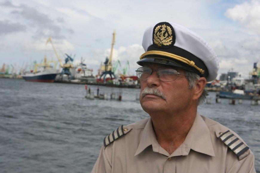 Jūrų kapitonų klubo pirmininkas Ričardas Lučka nuo 1991-ųjų nėra praleidęs nė vienos Jūros šventės.