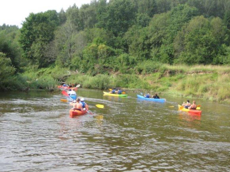 Minijos upė itin pamėgta poilsiautojų.