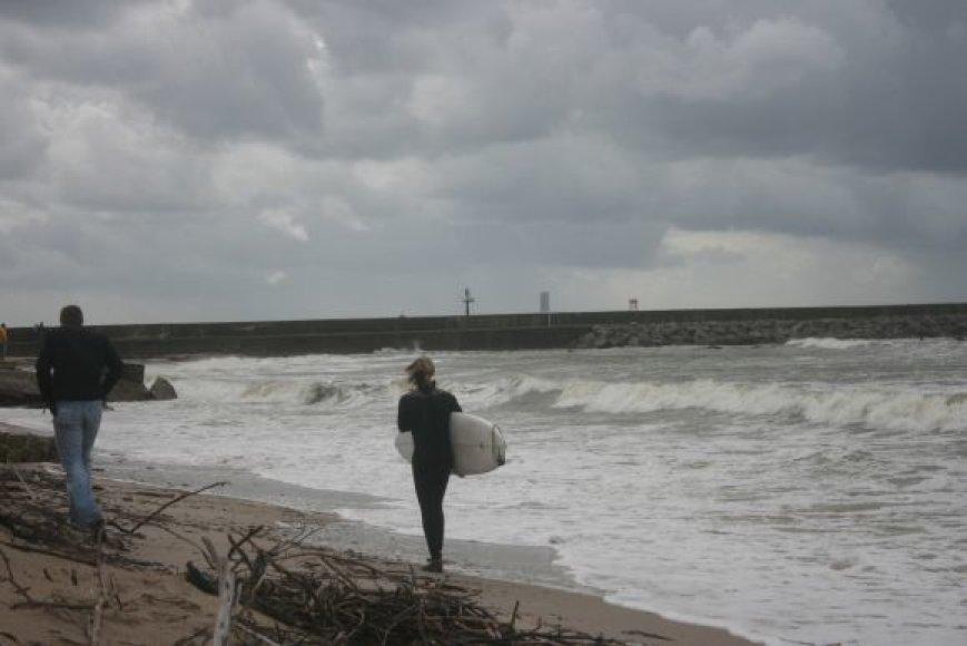 Jūros diena bus paminėta ant šiaurinio molo Melnragėje.