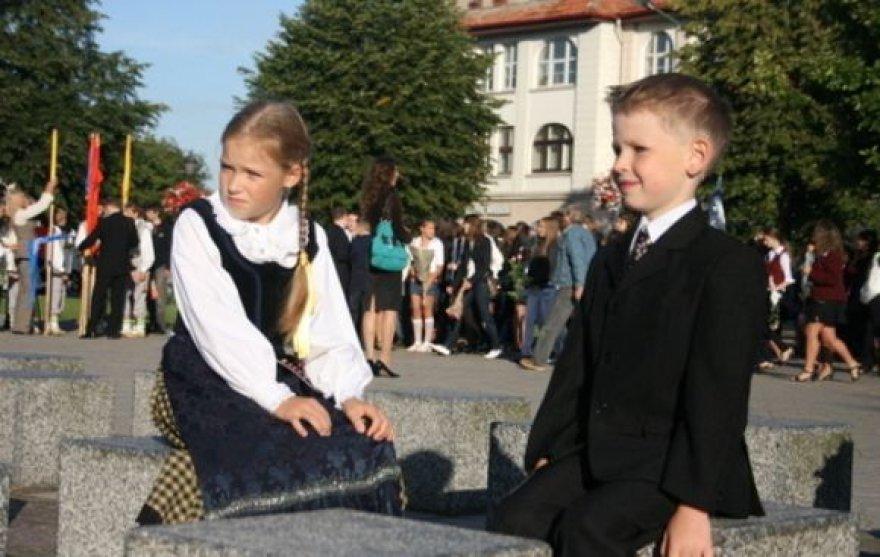Šiemet Klaipėdoje mokinių sumažėjo beveik tūkstančiu.