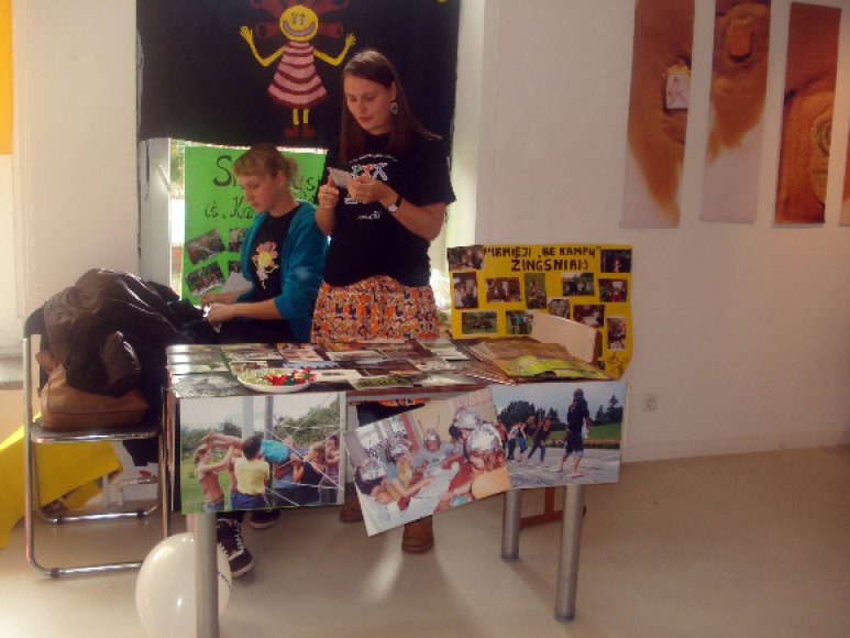 Klaipėdos jaunimo organizacijos šeštadienį save demonstravo mugėje.