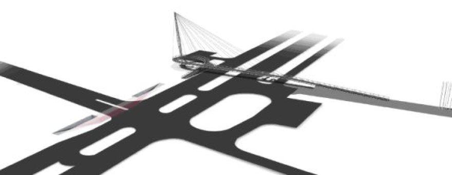 Tiltas prie būsimos Klaipėdos arenos sukėlė diskusijų tarp specialistų.