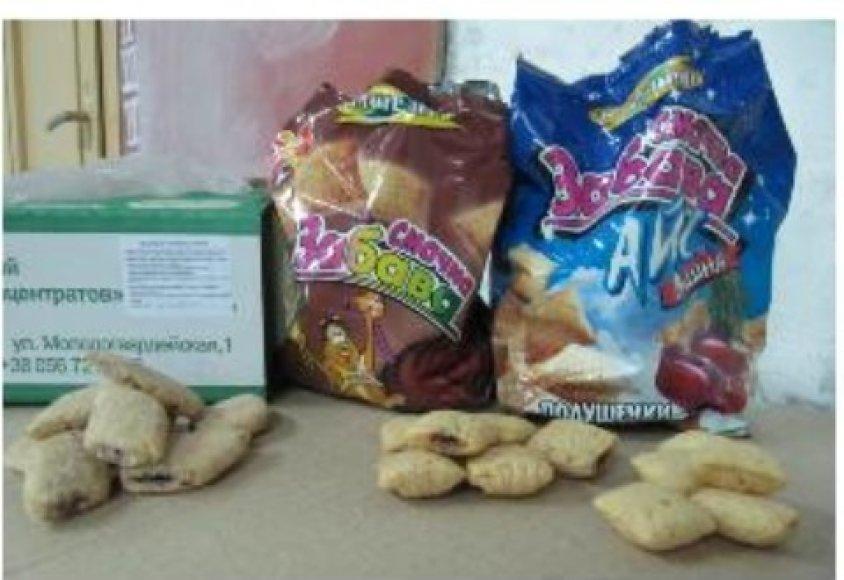 Ukrainietiški saldumynai buvo pagaminti iš genetiškai modifikuoti organizmų.
