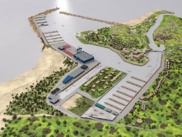 Šventojoje siekiama pastatyti uostą, tinkamą pramoginiams laivams.