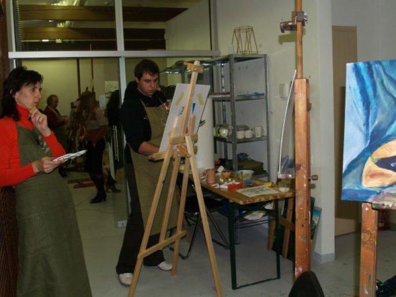 Kultūrų komunikacijų centras kviečia pasimokyti tapybos paslapčių.