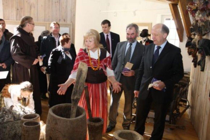 Oficialiai atvertas Kretingos malūnas, restauruotas už 5 mln. Lt.