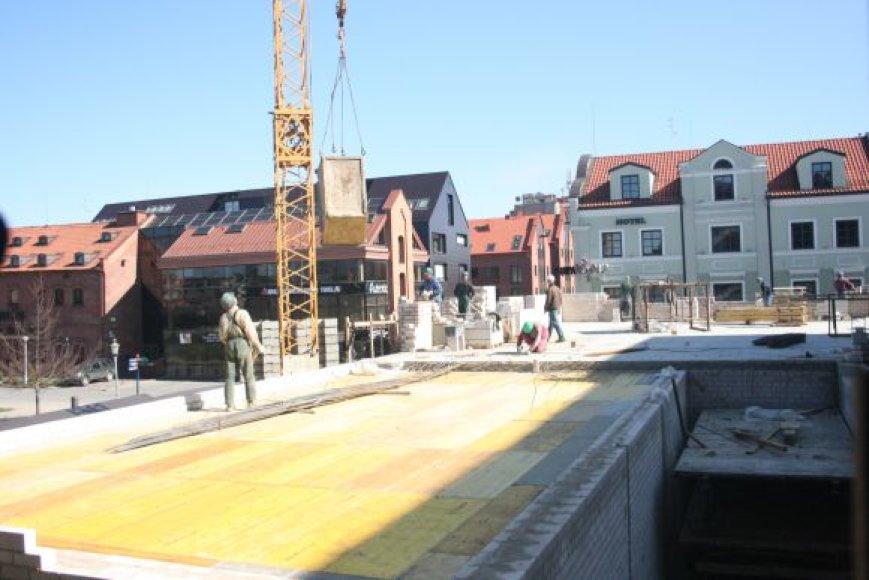 Dramos teatro rekonstrukcija įgauna pagreitį.