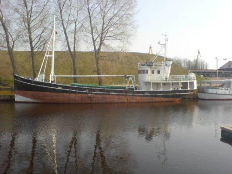 Beveik prieš šimtą metų statytas laivas dabar kelia gelavos skausmą.