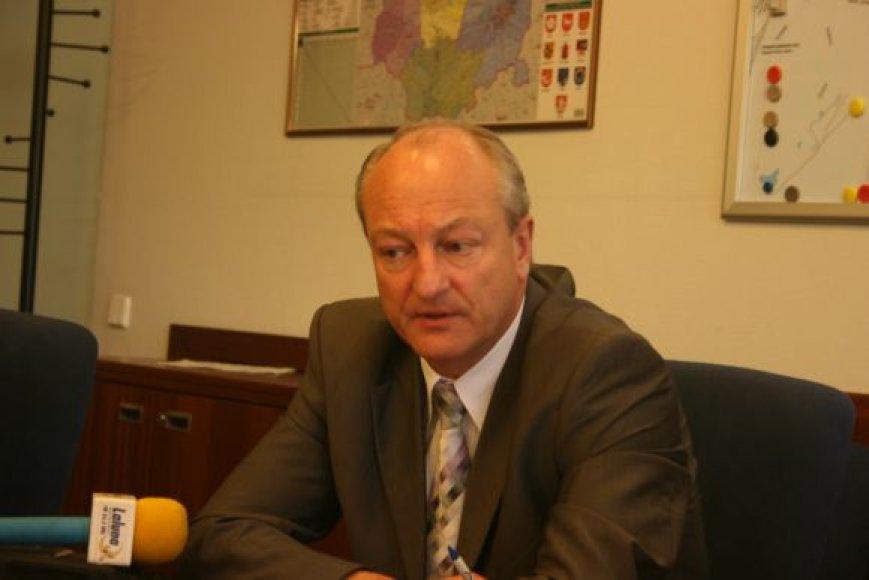 Vidas Karolis traukiasi iš Klaipėdos valstybinio jūrų uosto direkcijos.