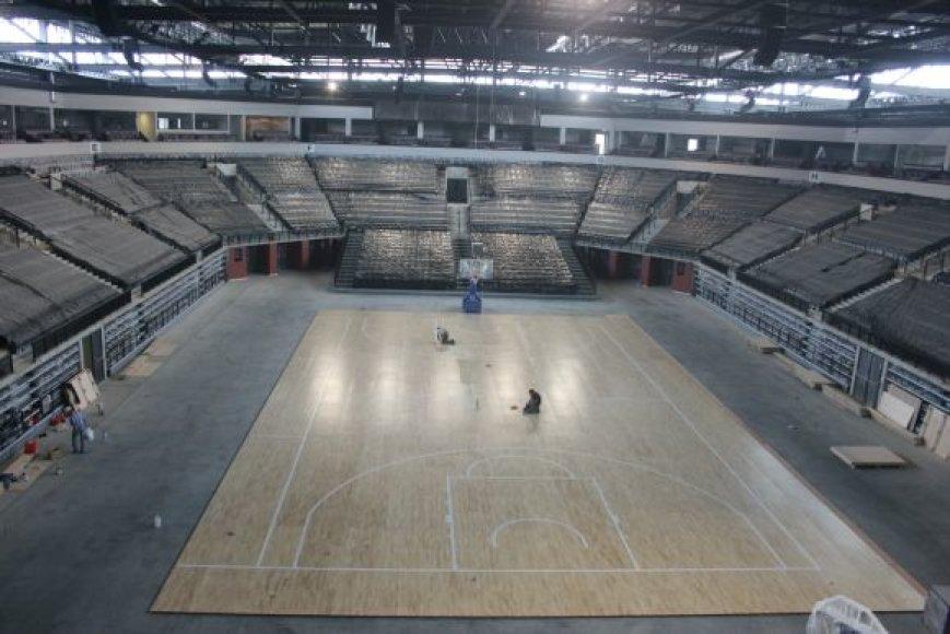 Klaipėdos arenoje tilps 7 tūkst. žiūrovų.