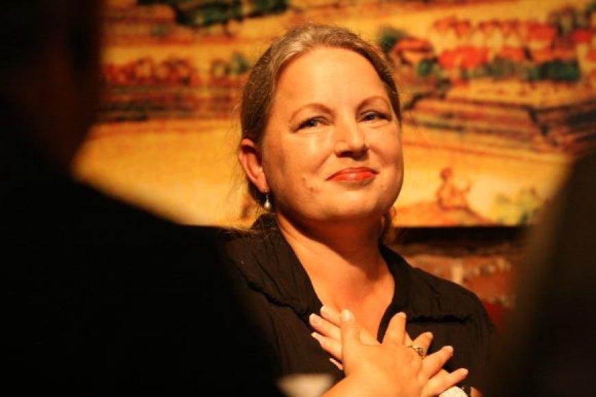 Naująja kultūros magistre tapo Rita Bočiulytė.