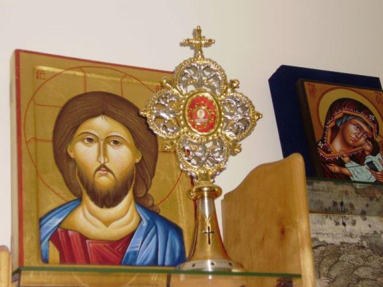 Relikvijos perduotos Palangos bažnyčiai.