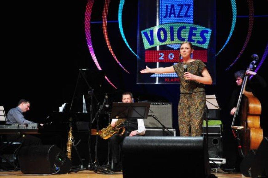 """Pradedama atranka į konkursą """"Jazz Voices""""."""