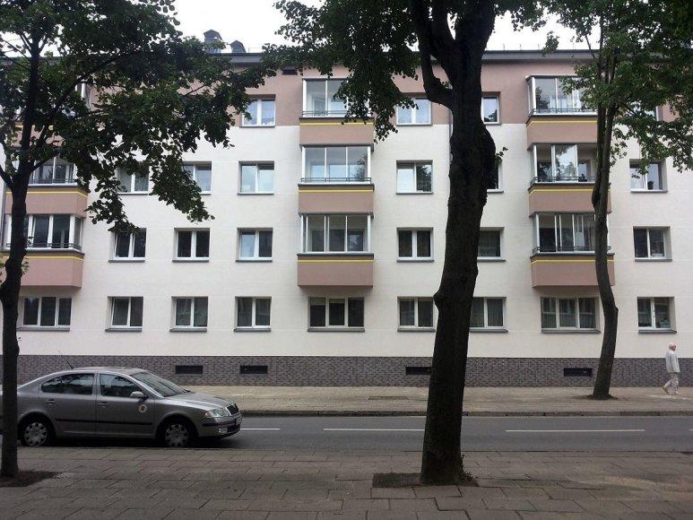 Klaipėdos miesto savivaldybės nuotr./Daugiabutis Sportininku g. 28