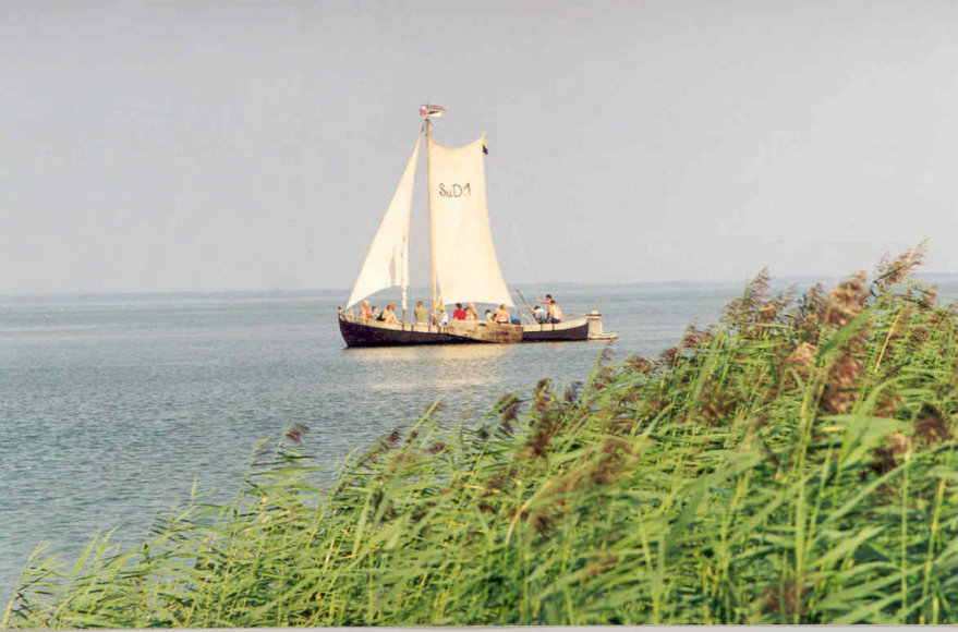 Jūrų muziejaus kurėnas leidosi į kelionę