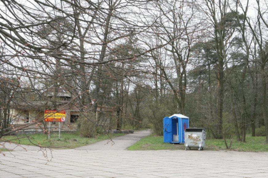 Daugelį metų netvarkytas parkas atgims naujai, bus sutvarkyti takeliai, infrastruktūra.