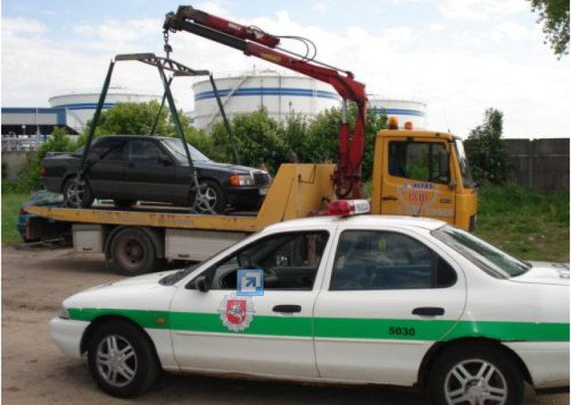 Klaipėdos apskrities policijoje vasarą užfiksuojama daugiau Kelių eismo taisyklių pažeidimų