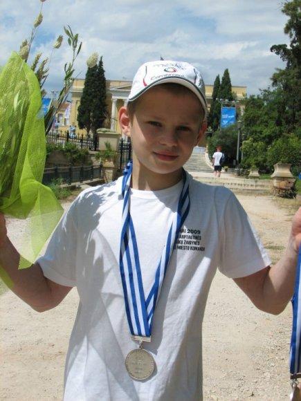 T.Kuzmickas į Kauną iš žaidynių parvežė net 6 medalius.