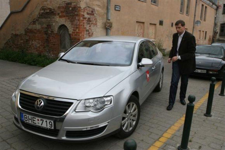 Aukščiausi Kauno vadovai iki šiol naudojosi prieš beveik 4 metus pagamintais VW Passat automobiliais.
