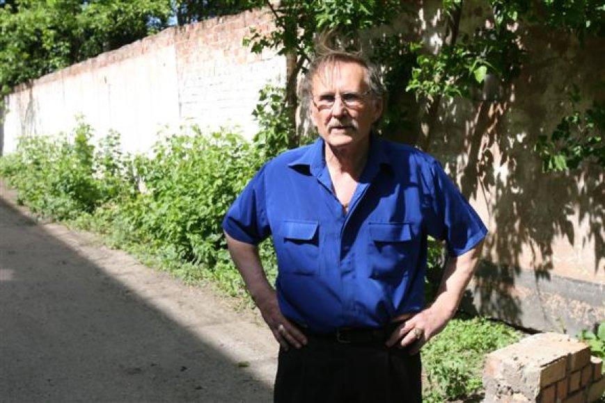 """""""Ąžuolyno meškučių cirko"""" vadovas Nikolajus Zobovas"""