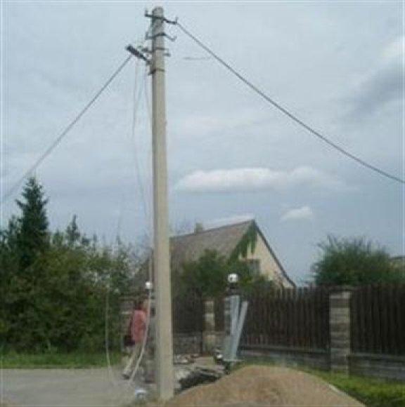 Elektros stulpas
