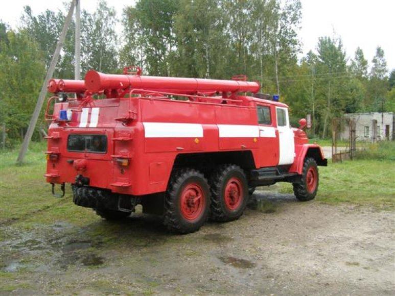 Tarybinis gaisrininkų automobilis