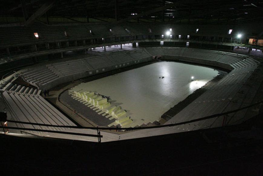 Žalgirio arenos statybvietė
