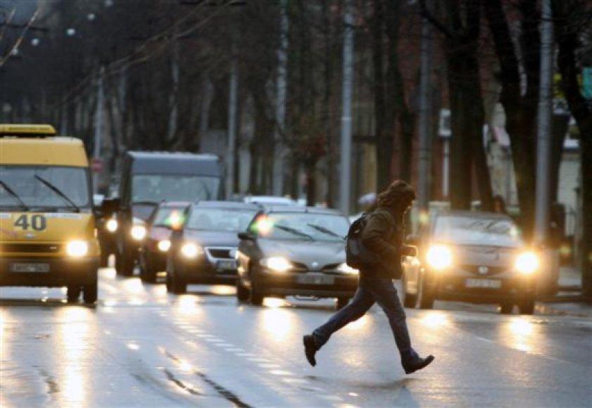 Eismas Kęstučio gatvėje
