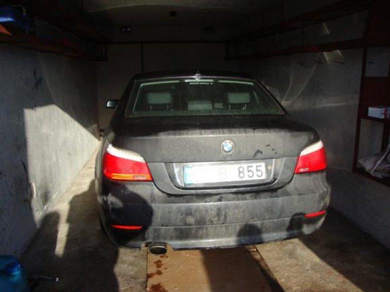 Austrijoje vogtas BMW buvo rastas viename iš Aukštųjų Šančių garažų.