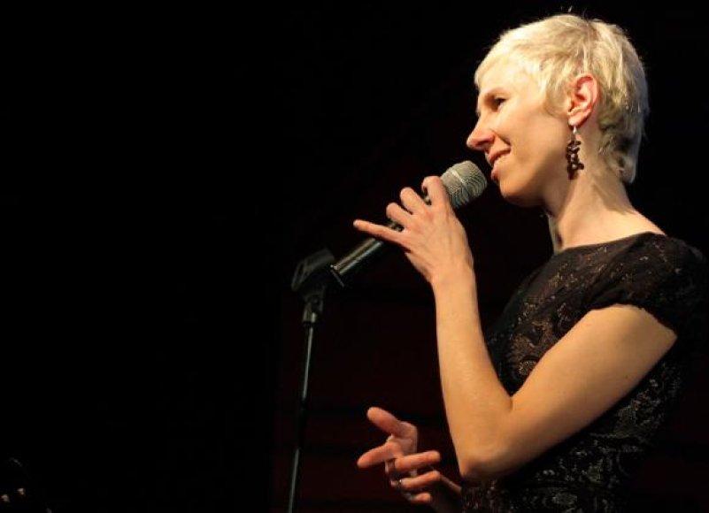 Išskirtinio balso savininkė G.Kilčiauskienė kauniečiams pristatys naująją savo programą.