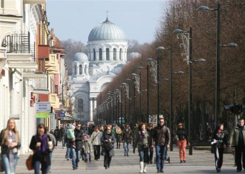 Į Kauną dažniausiai atvyksta turistai iš Suomijos, Vokietijos, Lenkijos ir Ispanijos.