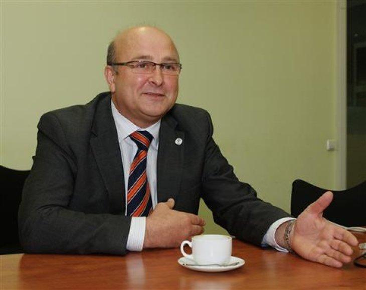 """""""Vičiūnų"""" įmonių grupės valdybos pirmininkas Visvaldas Matijošaitis"""