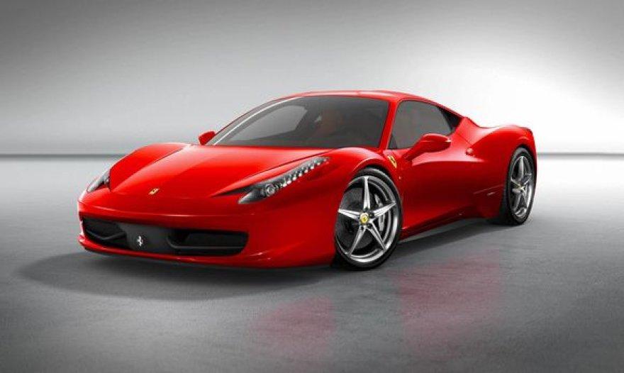 """Naujasis """"F458 Italia"""""""