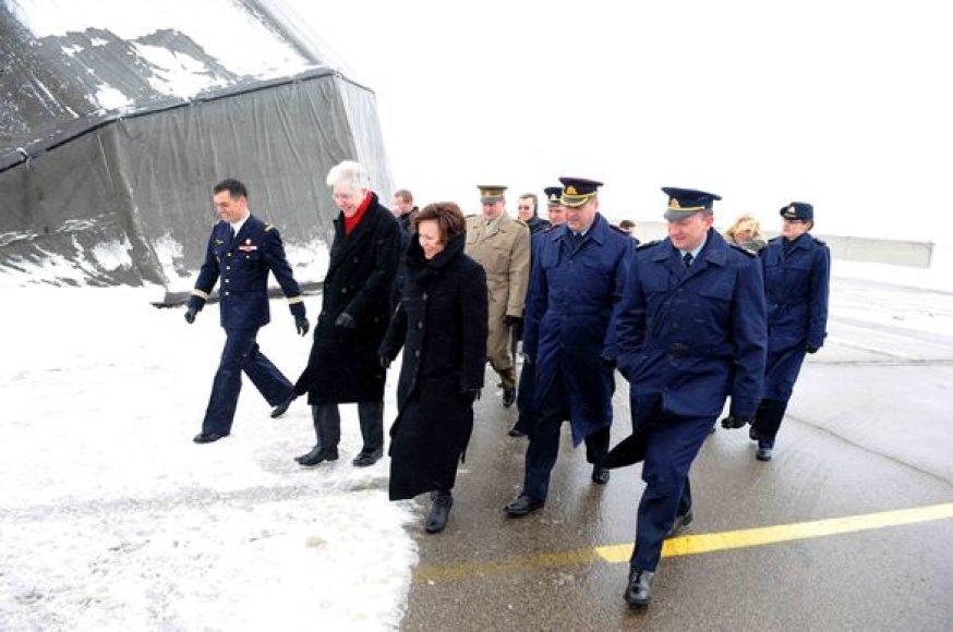 Pirmasis I.Liegio vizitas Lietuvoje