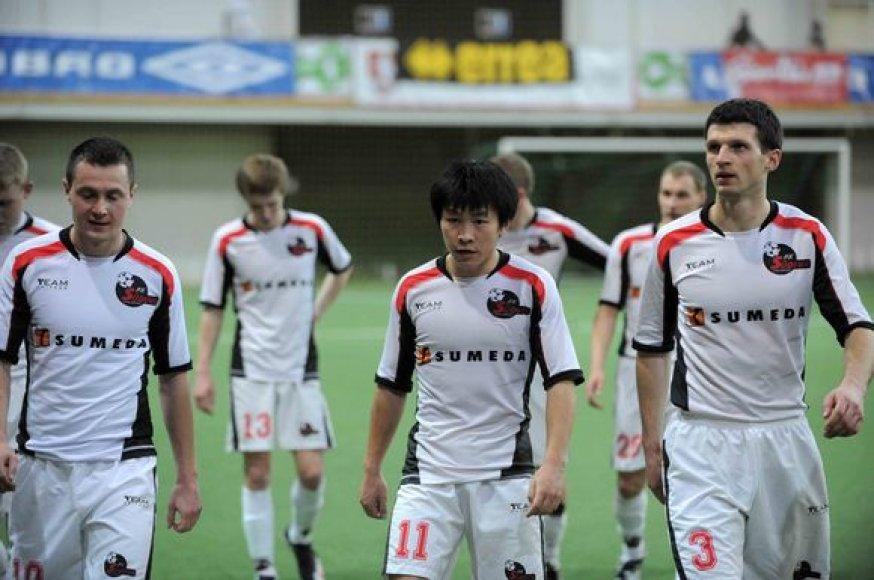 Marijampolės futbolininkams pavyko iškovoti antrąją vietą čempionate