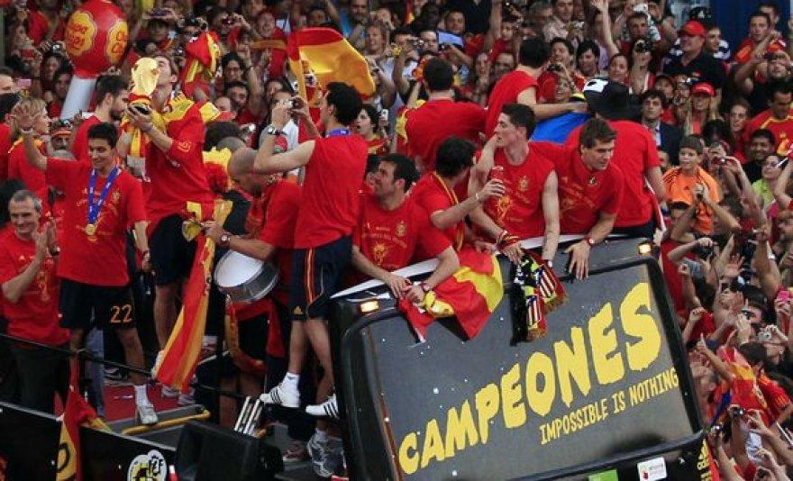 Ispanija pasitiko čempionus