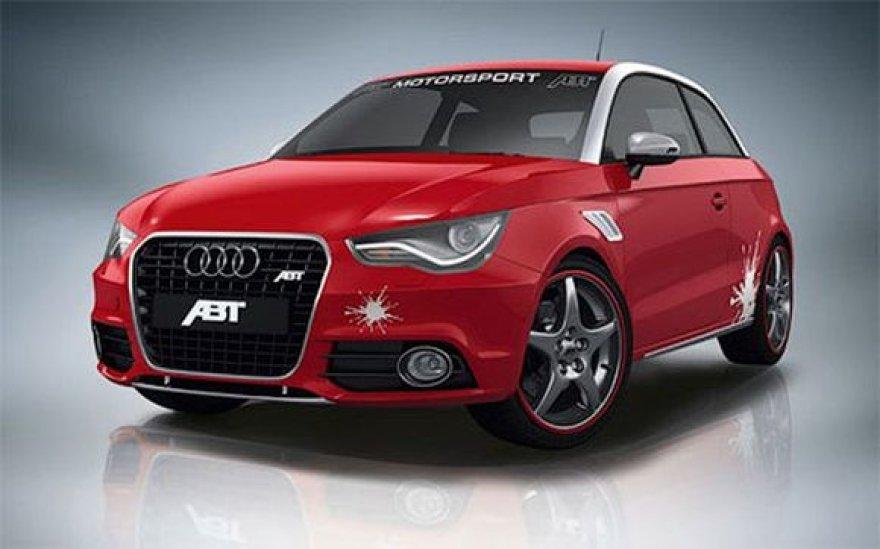 """ABT paruošė sportinį paketą """"Audi A1"""""""