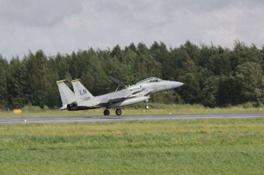 """Naikintuvai """"F-15C Eagle"""""""