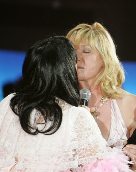 Foto naujienai: Asta Baukutė bučiavosi su Kristina Kazlauskaite