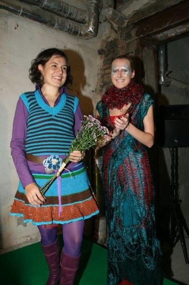 Foto naujienai: Indrė Dovydėnaitė ir Dovas Serapinas: šeimyninė paroda