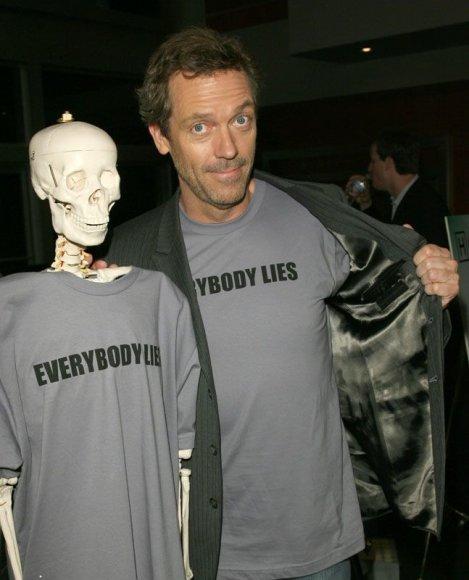 Foto naujienai: Hughas Laurie: depresija jam tinka