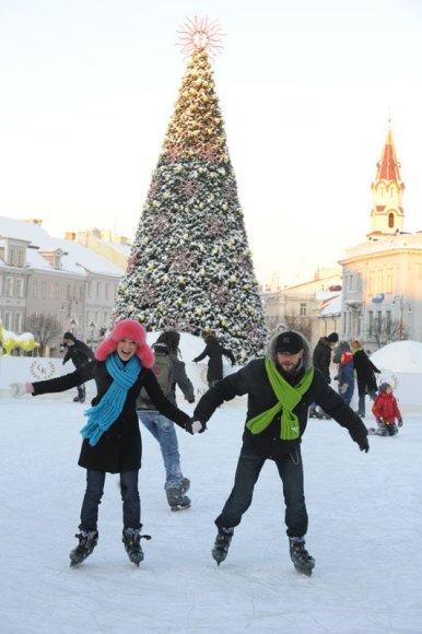 Foto naujienai: Natalija Zvonkė ir Rimas Valeikis: dviese ant ledo