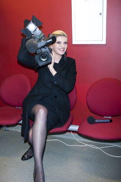 Foto naujienai: Skaiva Jasevičiūtė tapo operatore?