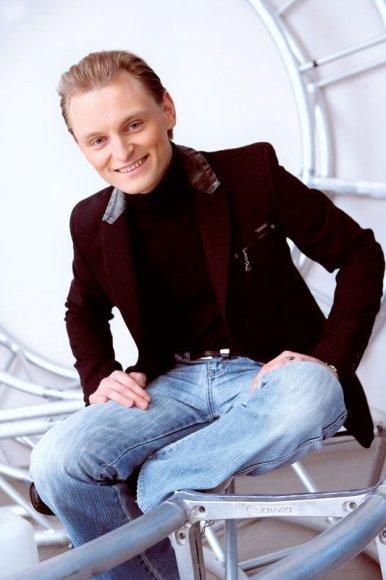 Foto naujienai: Liudas Mikalauskas: vaikinukas su užtaisu