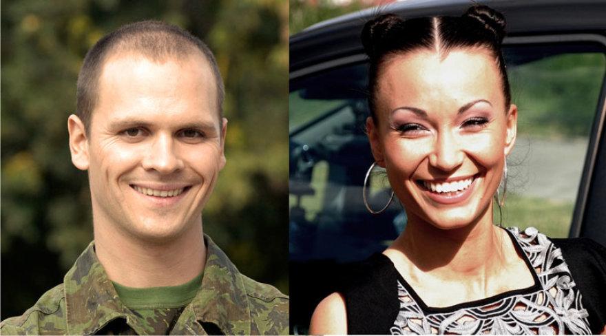 """Foto naujienai: K. Krysko ir A. Bružas - nauja pora """"Žvaigždžių duetuose"""""""