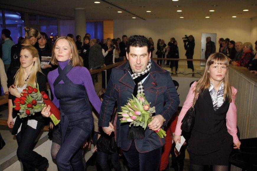 Foto naujienai: Darius Katinas: gražiausia – gėlės ir moterys