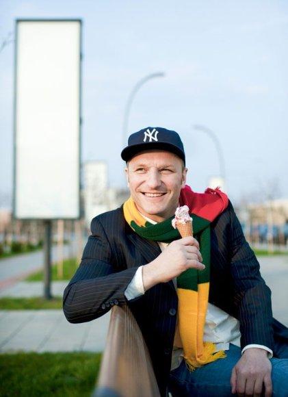 Foto naujienai: Darius Kasparaitis: tėvystė veža!