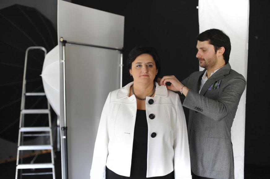 Foto naujienai: Mantas Petruškevičius: svarbiausia, kad ponia atrodytų gražiai!