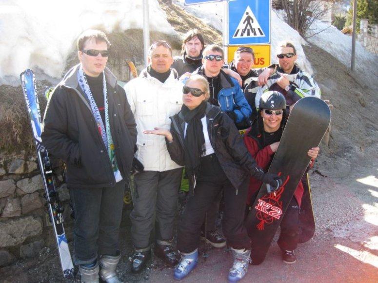 Foto naujienai: Nijolė Pareigytė-Neli iš kalnų grįžo su mėlynėmis