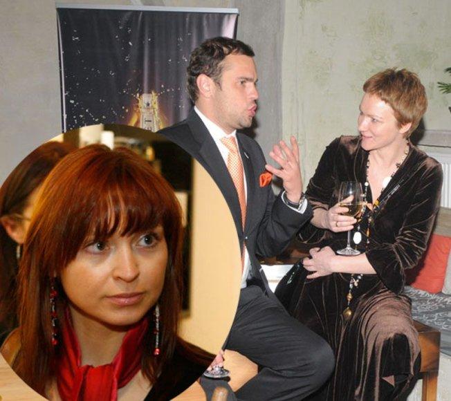Foto naujienai: R. Jakilaitienė, I. Trakimaitė ir J. Morkūnas: bendras verslas neišskirs!